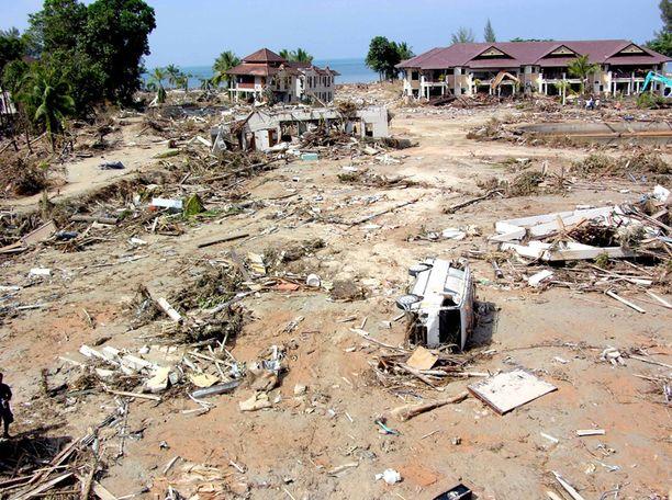 29. joulukuuta 2004, Khao Lak, Phuket, Thaimaa.