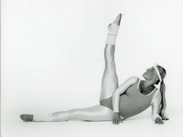 Anne Sällylän jalka nousi 80-luvulla vetreästi - ja nousee edelleen.