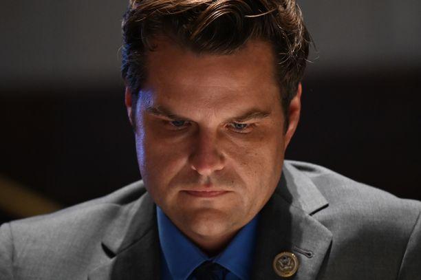 Kongressiedustaja Matt Gaetz kiistää häneen kohdistuvat rikosepäilyt.