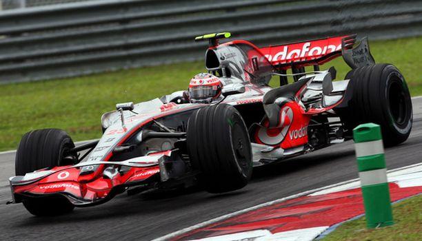 Heikki Kovalaisen aika-ajosijoitusta heikkennettiin Malesian GP:ssä viidellä hidastelun vuoksi.