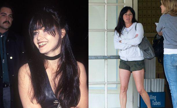Shannen Doherty, 44, menetti Brendan roolin huonon ja äkkipikaisen käytöksensä vuoksi. Sittemmin hän on esiintynyt 90210-spin-off-sarjassa ja suositussa Siskoni on noita -sarjassa. Hän on osallistunut myös Yhdysvaltojen Tanssii tähtien kanssa -sarjaan.
