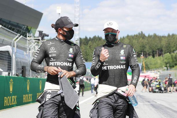 Lewis Hamilton joutuu pitämään Valtteri Bottasta tänä vuonna tarkasti silmällä.