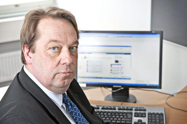Perussuomalaisten Mika Raatikainen toimi kansanedustajana vuosina 2014-2019.