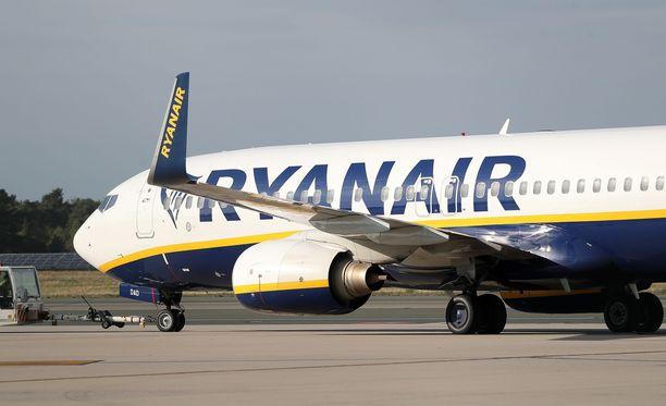 Noin 40 000 ihmistä jää tänään ilman Ryanairin lentoja.
