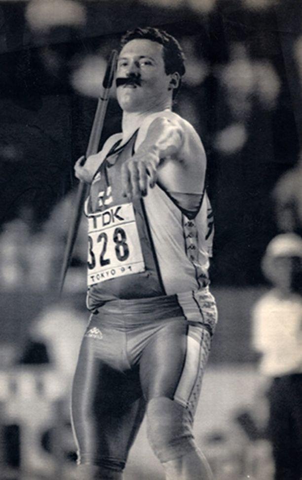 Kimmo Kinnunen voitti maailmanmestaruuden vuonna 1991.