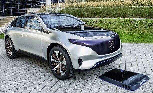 Mercedes-Benz on kertonut esittelevänsä lähivuosina toistakymmentä uutta sähköautomallia. Kuvassa Concept EQ.