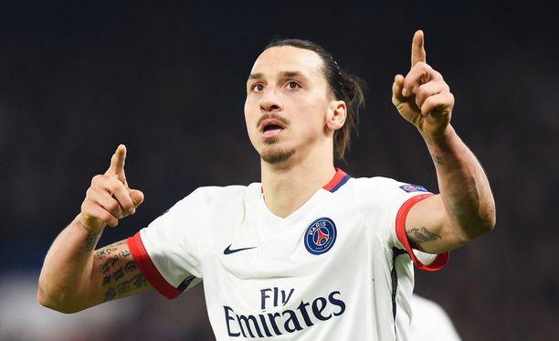 Zlatan Ibrahimovic tykitti neljä maalia. Liigassa maaleja on syntynyt tällä kaudella 27 ja syöttöjä 11.