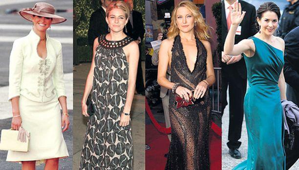Prinsessa Madeleinen, Sienna Millerin, Kate Hudsonin ja prinsessa Maryn pukeutumisesta voi huoletta ottaa mallia.