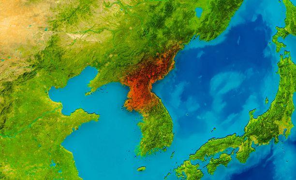 Kiinan mukaan järistyksen voimakkuus oli 3,4 ja sen keskus oli aivan maanpinnassa. Kuvituskuva.