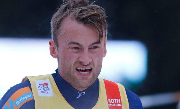 Petter Northug jäi Lahden yhdistelmäkisassa sijalle 16.