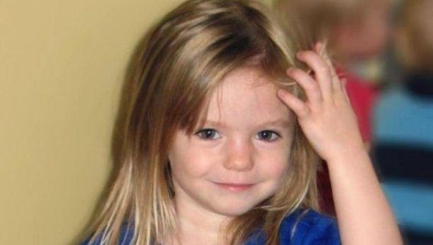 Madeilne McCann oli kolmevuotias hänen kadotessaan.