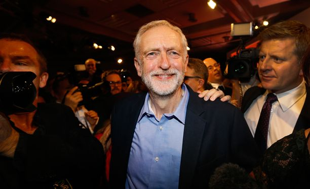 Jeremy Corbyn valittiin Britannian työväenpuolueen johtoon lauantaina.