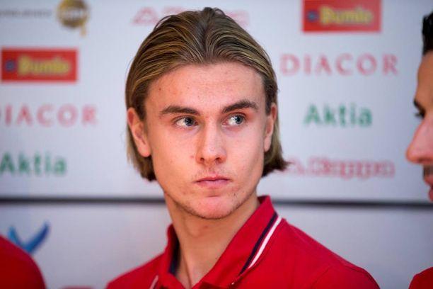 Daniel Rantasen HIFK-sopimus julkistettiin joulukuussa.