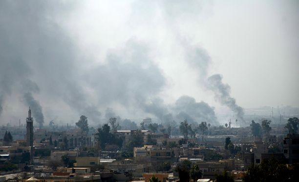 Mosulissa on aiemmin arvioitu olevan noin 750 000 siviiliä.