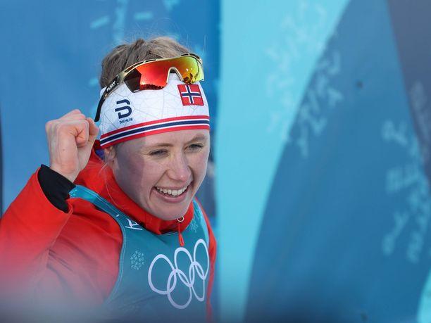 Ragnhild Haga voitti Pyeongchangissa kaksi olympiakultaa.