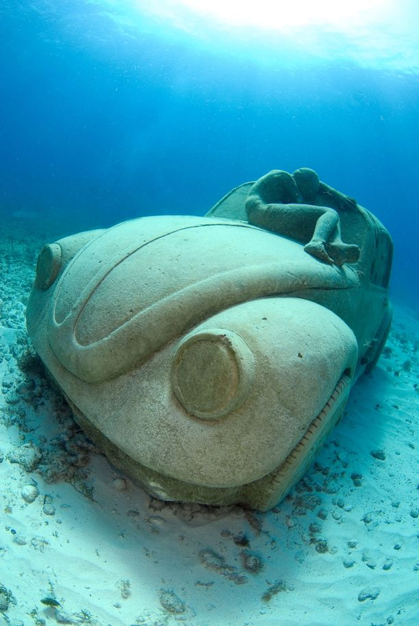 Vedenalainen museo perustettiin Meksikoon kymmenen vuotta sitten.