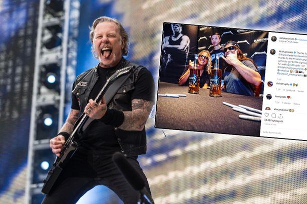Metallica ilmoitti syyskuussa, että bändin nokkamies James Hetfield joutuu vieroitukseen.