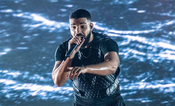 Kanadalainen Drake on maailmanlaajuisesti eniten kuunneltu artisti.