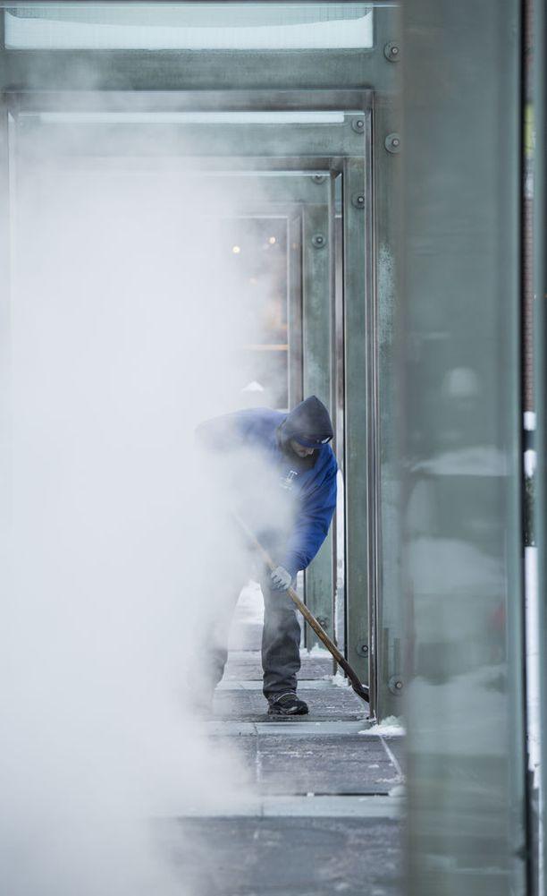 Lumimyrskyt ovat piinanneen muun muassa Bostonia.
