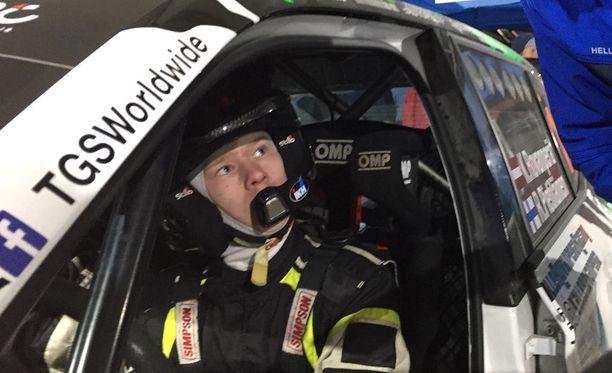 Kalle Rovanperä teki jälleen voittoisan reissun Latviaan.