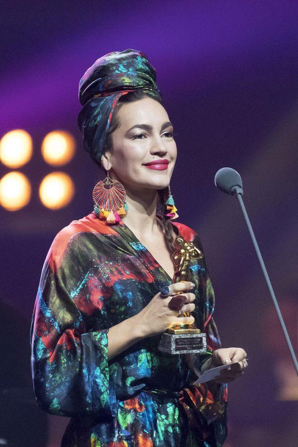 Meeri Koutaniemi palkittiin viime vuonna Turussa järjestetyssä Vuosisasdan kulttuurigaalassa Kulttuurin tulevaisuus -palkinnolla.
