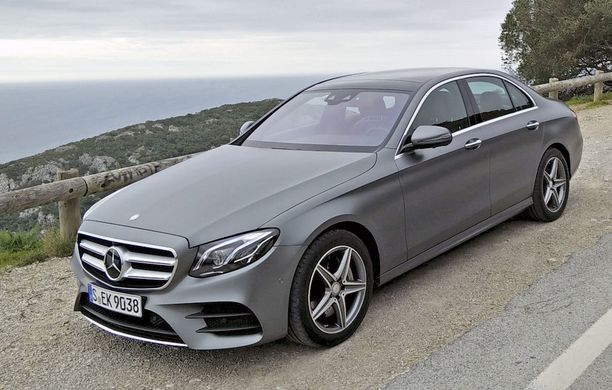 Luksusautojen parhain: uusi Mercedes-Benz E-sarja.