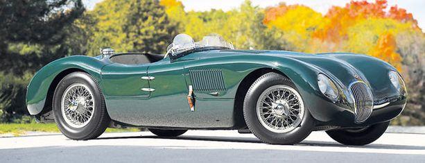 Neljänneksi kallein Jaguar C-Type vm. 1952.