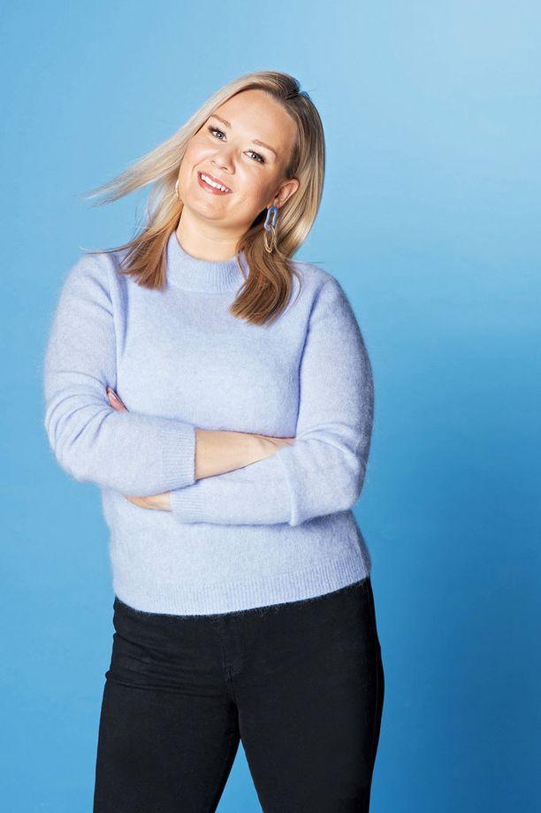 Anni Vallius haluaa tuoda positiivista kehonkuvaa enemmän esiin.