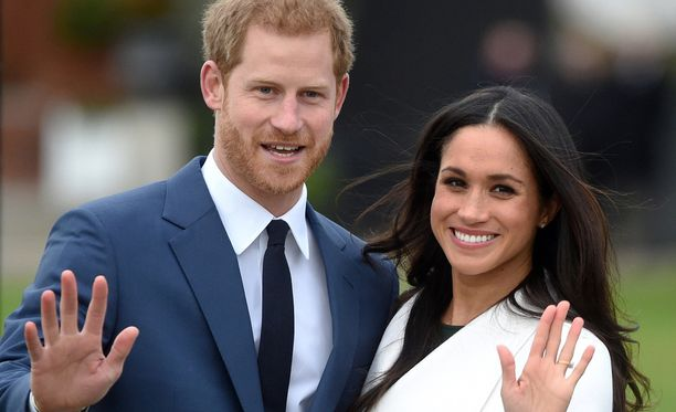 Harry ja Meghan saavat avioliiton myötä uudet tittelit.