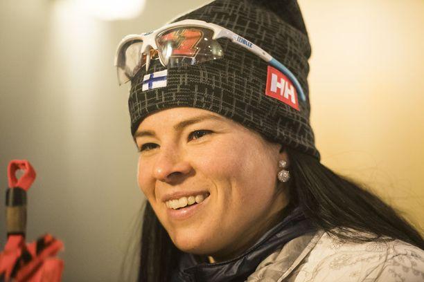 Krista Pärmäkoski on tiennyt jo lapsesta asti, että hänestä tulee huippu-urheilija.
