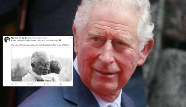 Prinssi Charles ja hänen pojanpoikansa ovat tuoreessa kuvassa sympaattinen näky.