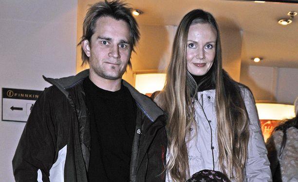 Viime vuosina Lenni-Kalle ja Maria esiintyvät julkisuudessa harvakseltaan. Kuva on vuodelta 2009.