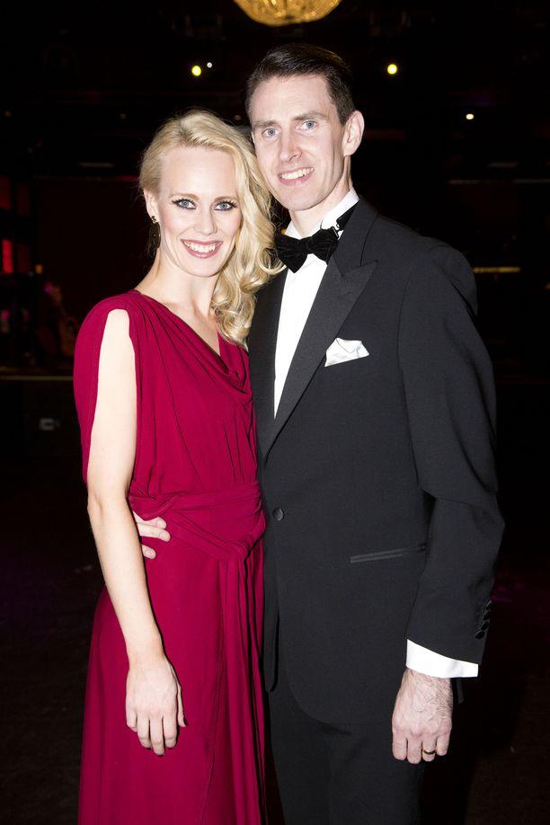 Jutta ja Sami Helenius saattavat korottaa ääntään tanssista mutta eivät muusta.