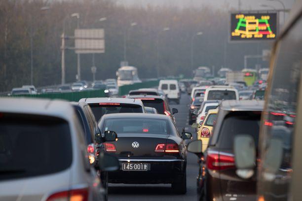 Vakavat liikenneonnettomuudet ovat yleisiä Kiinassa. (Kuvituskuva)