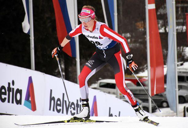 Teresa Stadlober paljastaa Iltalehdelle, mitä Korean olympiakisojen 30 kilometrin kilpailussa tapahtui.