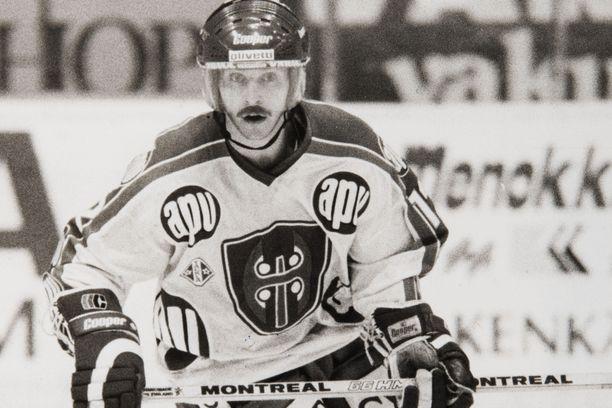 Erkki Lehtonen voitti Tapparan paidassa peräti kuusi mestaruutta.