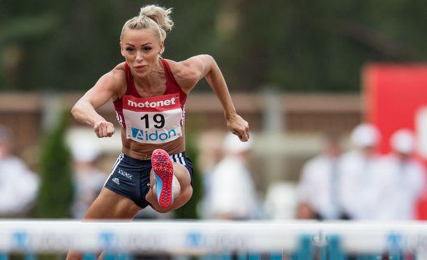 Annimari Korte lunasti EM-kisalippunsa Kalevan kisoissa, joissa hän sijoittui toiseksi.