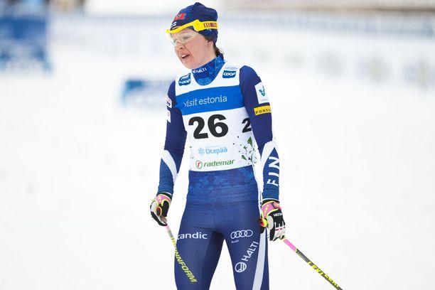 Kerttu Niskanen palasi julkisuuteen pyhänä Virossa.