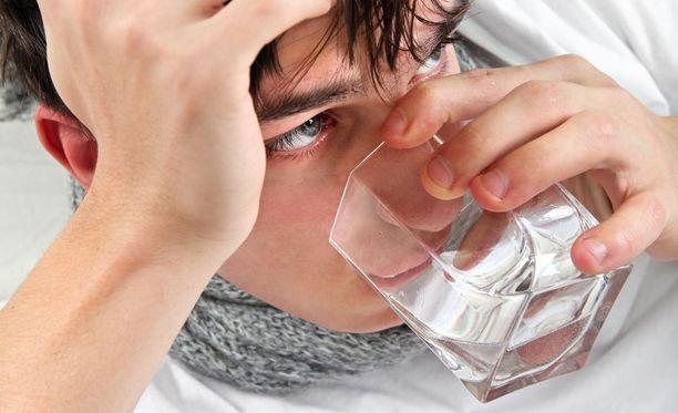 Purskuttele, jos flunssa uhkaa tai olet lähdössä juhlimaan.