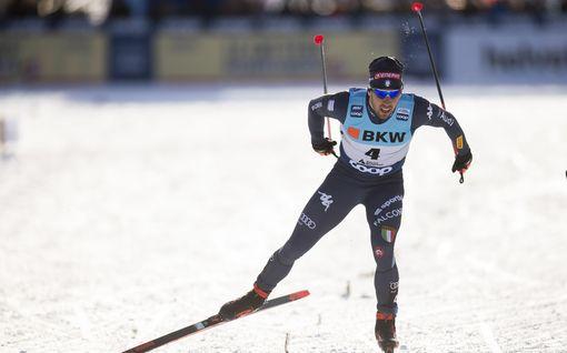 """Italian hiihtotähti joutui ikävän käytöksen kohteeksi koronaviruksen takia – maailmancup vaarassa? """"Katsoivat minua kuin virusta"""""""