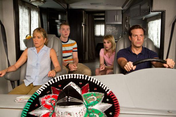 Millerit-komediaa tähdittivät Willin lisäksi Frendeistäkin tuttu Jennifer Aniston, Emma Roberts ja Jason Sudeikis.