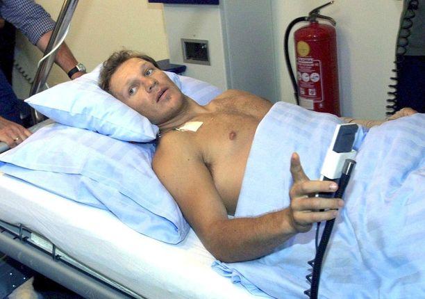 Vuonna 2001 Hermann Maier meinasi kuolla moottoripyöräonnettomuudessa.