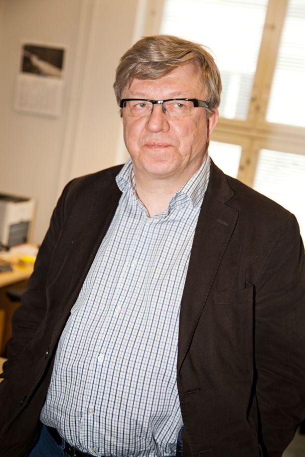 Keskustan puoluesihteeri Timo Laaninen.