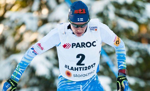 Matti Heikkinen taisteli upeasti pronssille 50 kilometrin kisassa.