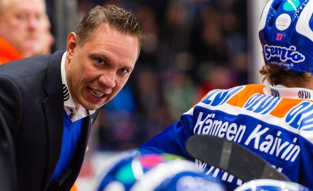 Jussi Tapolan Tappara sai mieluisan vahvistuksen.