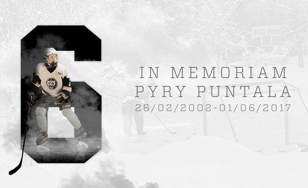 TPS:n C1-junioreiden joukkue pelaa Pyry Puntalalle. Joukkueen tavoitteena on hankkia Puntalalle kultamitali tällä kaudella.