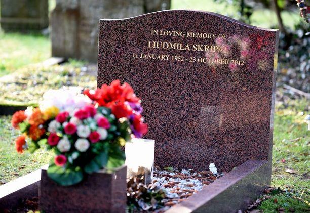 Ljudmila Skripal kuoli Britanniassa vuonna 2012.