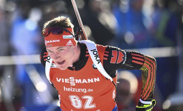 Saksan Benedikt Doll on pikamatkan maailmanmestari.