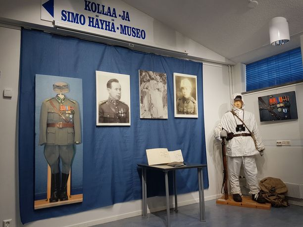 Kollaa- ja Simo Häyhä -museo avautuu tältä kesältä 5. kesäkuuta. Tuolloin tulee myyntiin 500 kappaleen erä muistikirjakopiota koneella kirjoitettuna.