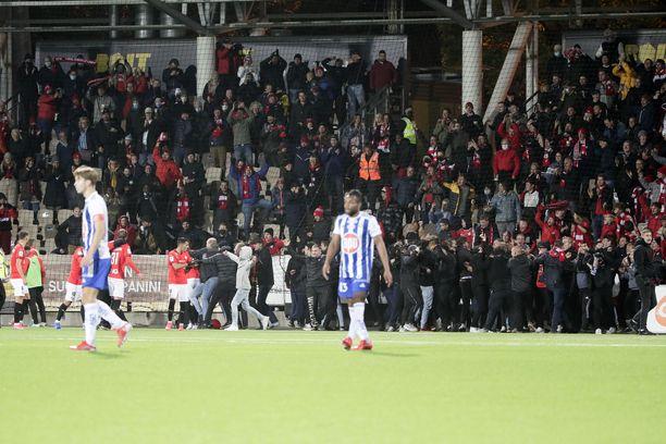 HIFK:n pelisuunnitelma toimi varamiehistä HJK:ta vastaan.